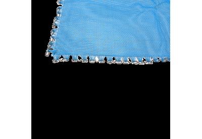 Trampolindug Gigant Deluxe lys blå
