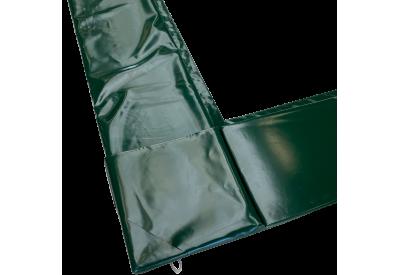 Kantpude PE-nedgravet - grøn