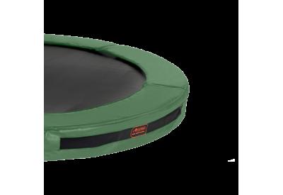 Kantpude Superjumper Inground 4,3 m - Grøn