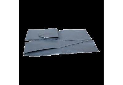 Cover til stolpe til sikkerhedsnet - grå