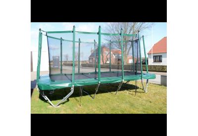 Sikkerhedsnet Sportsjumper XL - Grøn
